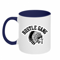 Купити Кружка двокольорова Hustle Gung