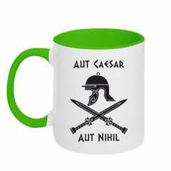 Купити Кружка двокольорова Або Цезар, або ніщо