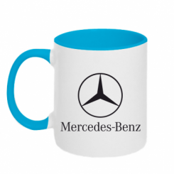 Купити Кружка двокольорова Mercedes Benz