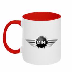 Кружка двокольорова Mini Cooper