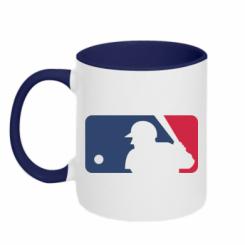 Купити Кружка двокольорова MLB
