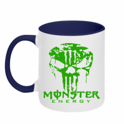 Купити Кружка двокольорова Monster Energy Череп