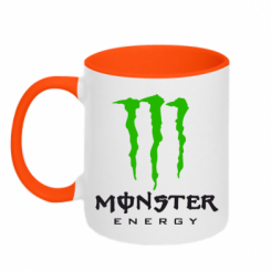 Кружка двокольорова Monster Energy Classic