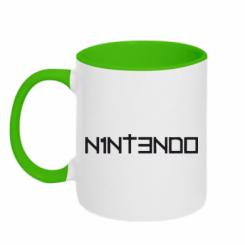Купити Кружка двокольорова Nintendo