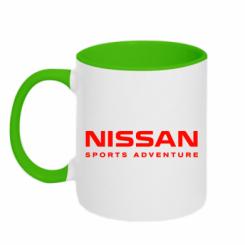 Купити Кружка двокольорова Nissan Sport Adventure