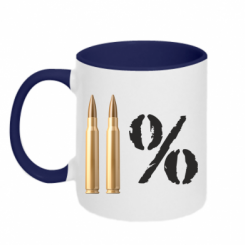 Купити Кружка двокольорова Одинадцять відсотків