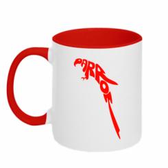 Купити Кружка двокольорова Parrot
