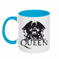 Купити Кружка двокольорова Queen