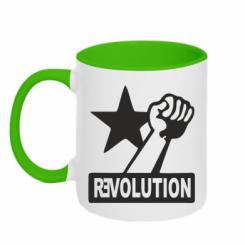 Купити Кружка двокольорова Revolution