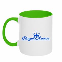 Купити Кружка двокольорова Royal Stance