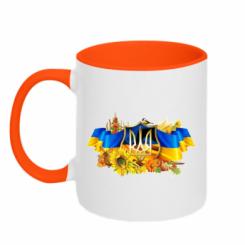 Кружка двокольорова Сонячна Україна
