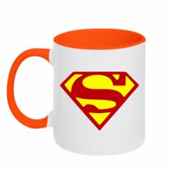 Купити Кружка двокольорова Superman