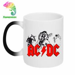 Купити Кружка-хамелеон AC DC