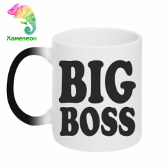 Купити Кружка-хамелеон Big Boss