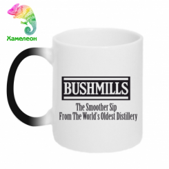 Кружка-хамелеон Old Bushmills Brand