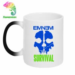 Купити Кружка-хамелеон Eminem Survival