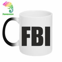 Купити Кружка-хамелеон FBI (ФБР)