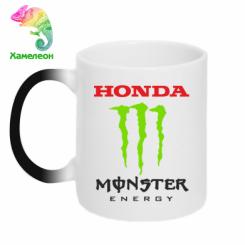 Купити Кружка-хамелеон Honda Monster Energy