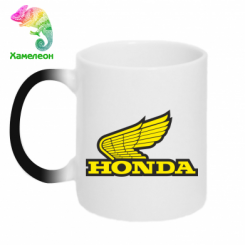 Купити Кружка-хамелеон Honda Vintage Logo