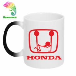 Купити Кружка-хамелеон Honda