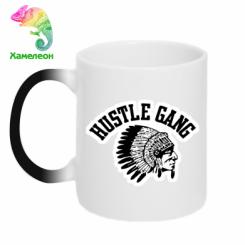 Купити Кружка-хамелеон Hustle Gung