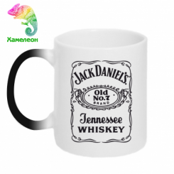 Купити Кружка-хамелеон Jack daniel's Whiskey