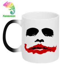 "Купити Кружка-хамелеон ""Joker Face"""