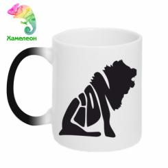 Купити Кружка-хамелеон Лев