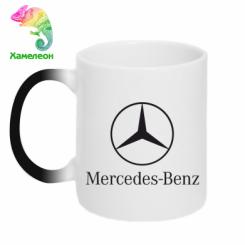 Купити Кружка-хамелеон Mercedes Benz