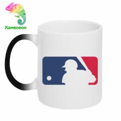 Купити Кружка-хамелеон MLB