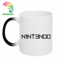 Купити Кружка-хамелеон Nintendo