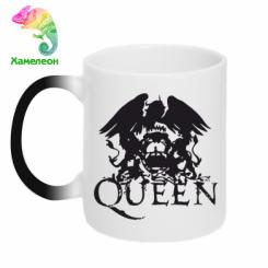 Купити Кружка-хамелеон Queen