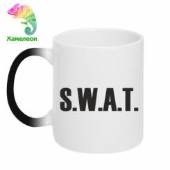 Купити Кружка-хамелеон S.W.A.T.