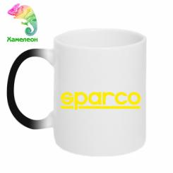 Купити Кружка-хамелеон Sparco