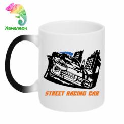 Купити Кружка-хамелеон Street Racing Car
