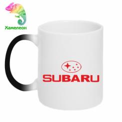 Купити Кружка-хамелеон Subaru