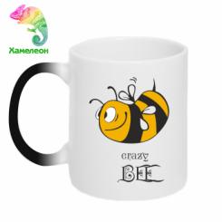 Купити Кружка-хамелеон Шалена бджілка