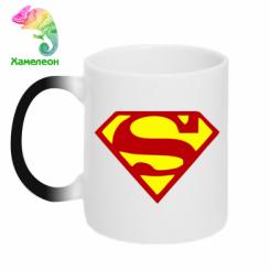 Купити Кружка-хамелеон Superman