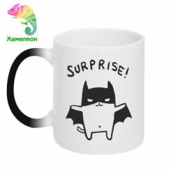Кружка-хамелеон Surprise!