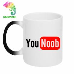 Купити Кружка-хамелеон YouNOOB