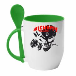 Купити Кружка з керамічною ложкою Alchemy England