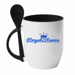 Купити Кружка з керамічною ложкою Royal Stance