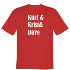 Футболка KURT & KRIST & DAVE
