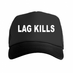 Кепка-тракер Lag kills