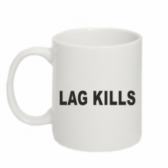 Кружка 320ml Lag kills