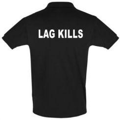 Футболка Поло Lag kills