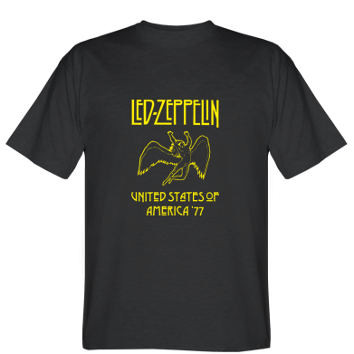 Футболка Led Zeppelin United States of America 77