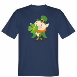 Футболка Leprechaun with clover
