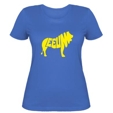 Купити Жіноча футболка Лев 2