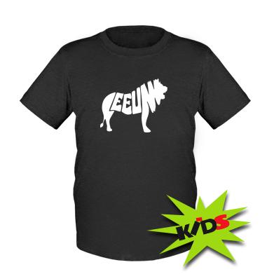 Купити Дитяча футболка Лев 2